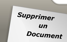 Supprimer un document