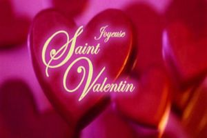 coeur amour st valentin