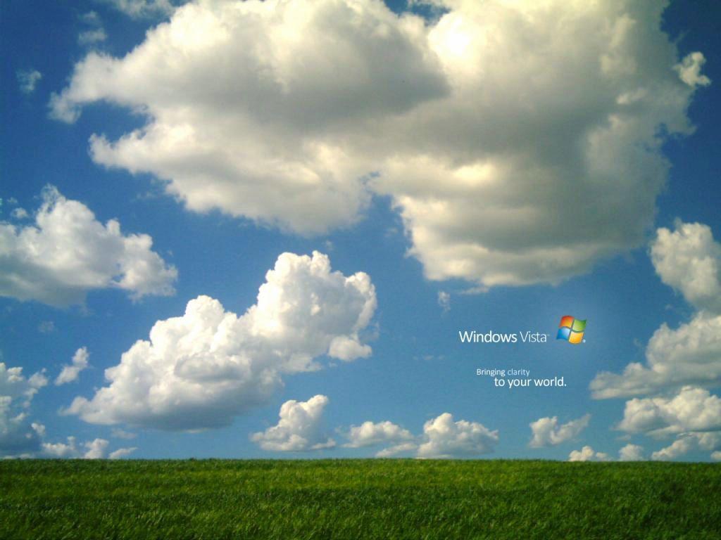 Fond ecran windows vista avec des nuages et un beau ciel for Fond ecran vista