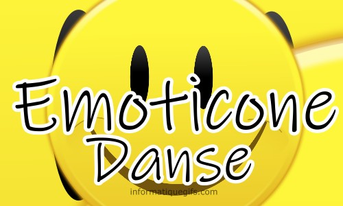 photo emoticone danse