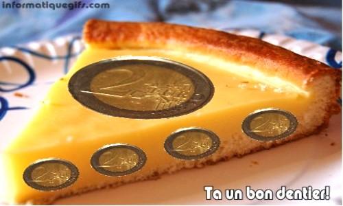 Humour anniversaire gateau et tarte au flan - Image gateau anniversaire humour ...