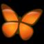 Icone papillon