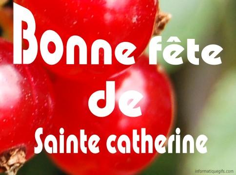 Souhaiter une bonne fete de Sainte Catherine
